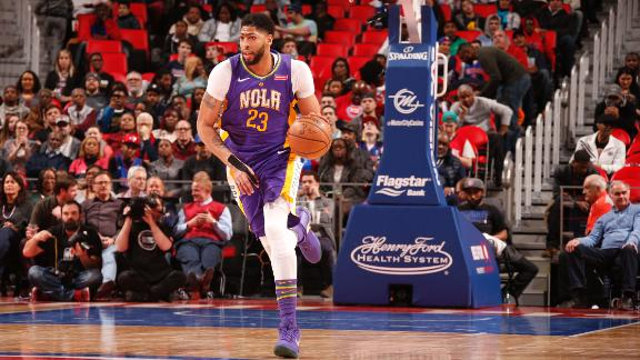 Davis continues domination of Pistons