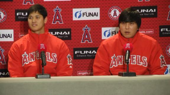 Ohtani not feeling pressure
