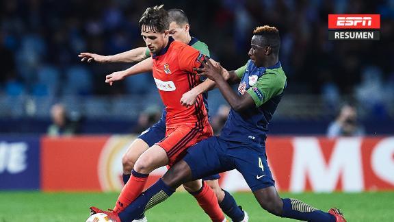 Resumen: Real Sociedad 2-2 Salzburgo