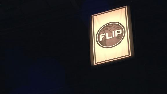 Wolves honor Flip with banner