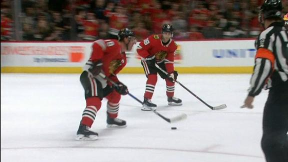 Toews gets the steal and Kane scores for the Blackhawks