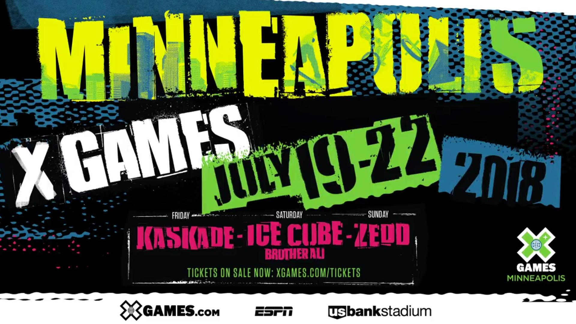 X Games Minneapolis 2020.Tickets For X Games Minneapolis 2018 On Sale Now