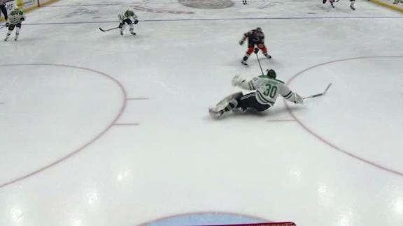 Getzlaf chips Bishop, then scores shorthanded goal