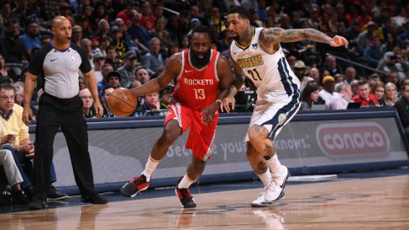 Harden leads Rockets to 12th consecutive win