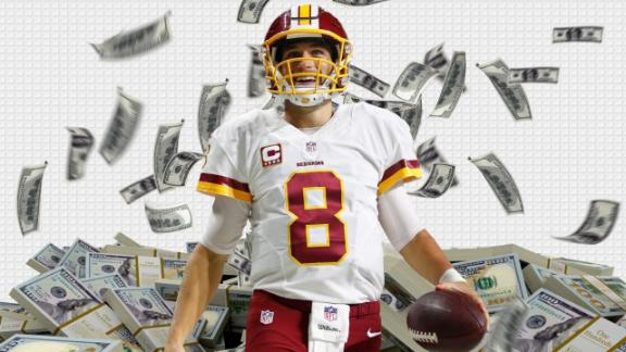 Is Cousins worth $100 million?