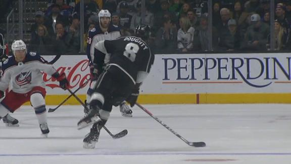 Kings rally against Blue Jackets
