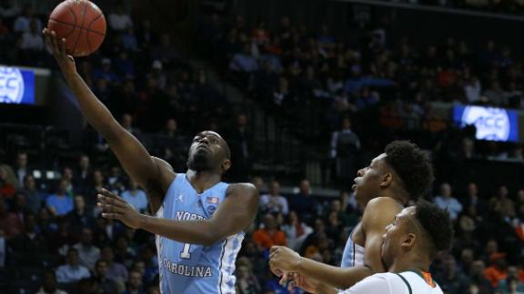 Pinson's big night fuels UNC to win