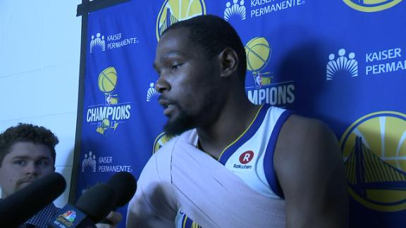 Durant: 'Steph is the system here'
