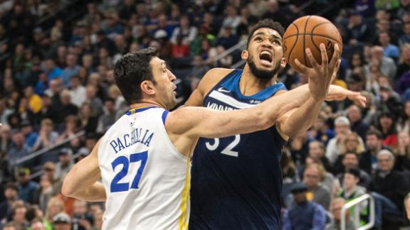 Wolves hand Warriors second-straight loss