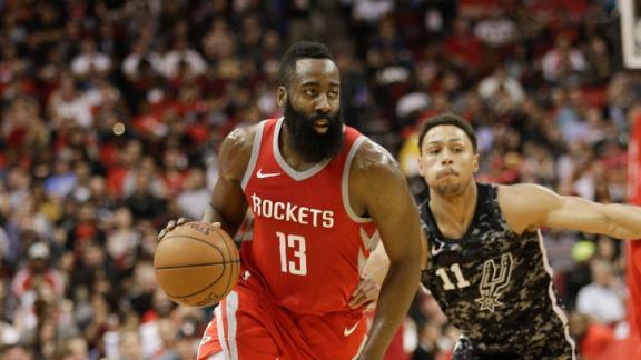 Rockets soar past Spurs