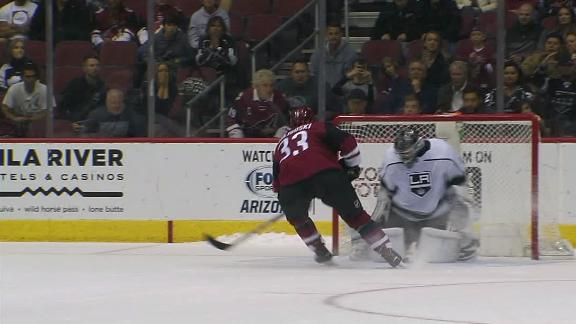 Coyotes win in shootout against Kings