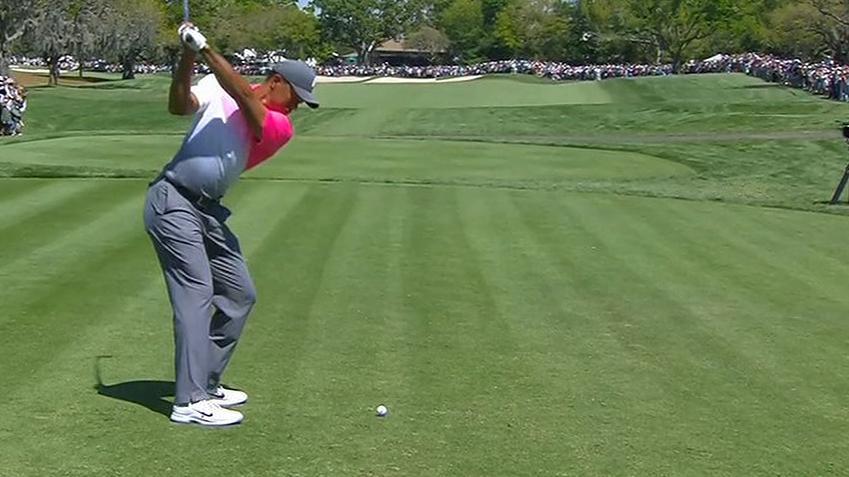 Tiger even par in second round