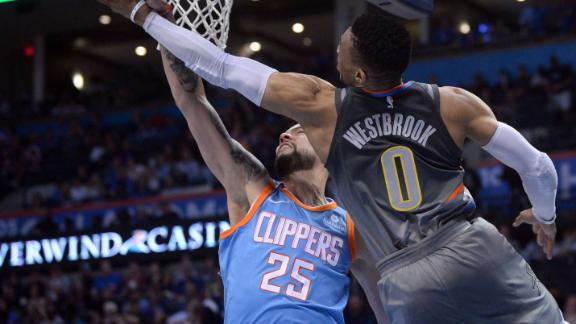 Westbrook records 101st triple-double
