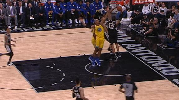 Golden State Warriors fall 89-75 to Spurs in San Antonio