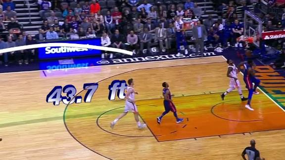 Griffin's epic shovel pass to Drummond