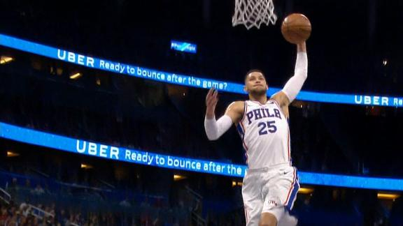 Ben Simmons Stats News Videos Highlights Pictures Bio