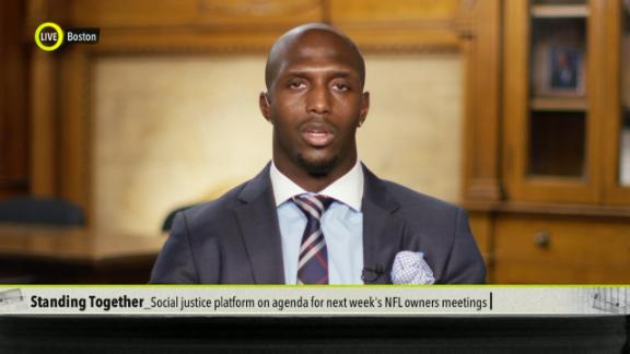 McCourty, Players Coalition advocate for social justice