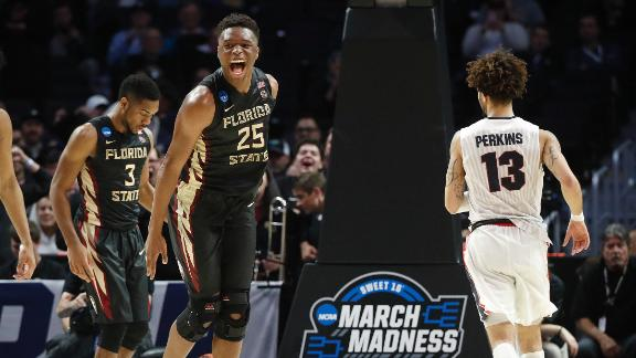 Florida State clinches spot in Elite Eight for first time since '93