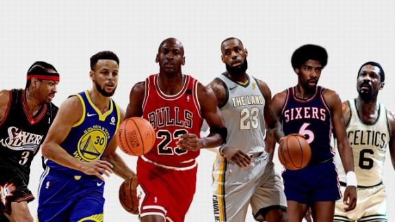 Image result for mj lebron lead list of nba game-changers
