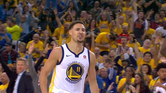Warriors click on all cylinders in Game 1 blowout