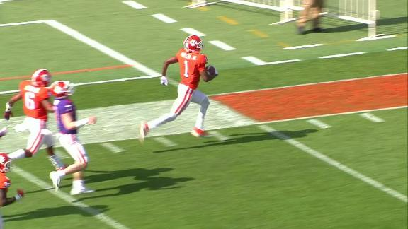 Mullen returns pick-six 80 yards