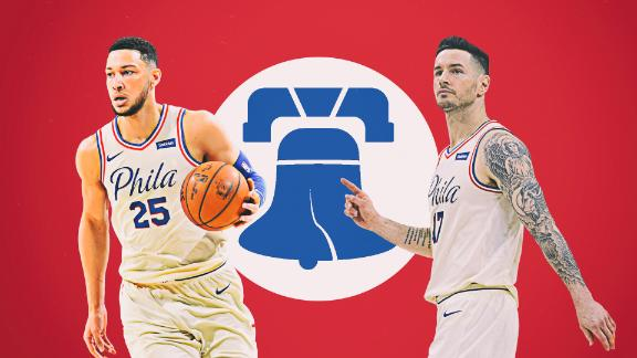 Sixers hype up Philly with dynamic performance