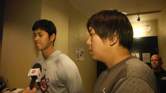 Ohtani on facing Red Sox: Not going to be easy