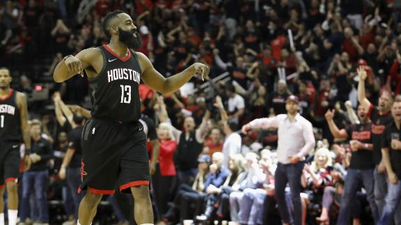 Harden's MVP form lifts Rockets to victory