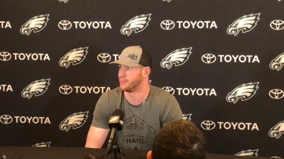 Wentz learned a lot about himself with injury