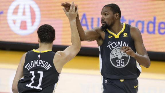 KD and Klay propel Warriors past Spurs
