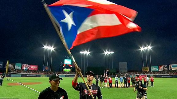 Lindor gave Puerto Rico a night to remember