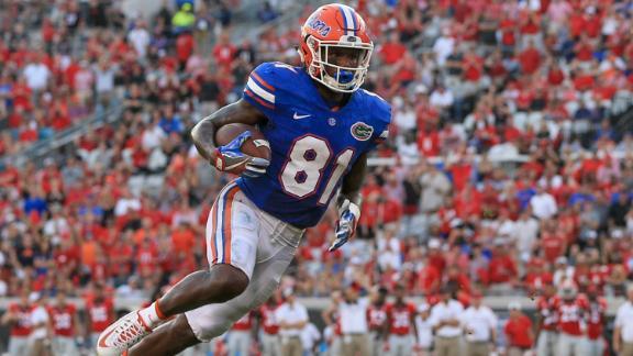 meet f7d82 8e55b Cleveland Browns selected troubled Florida Gators WR Antonio ...