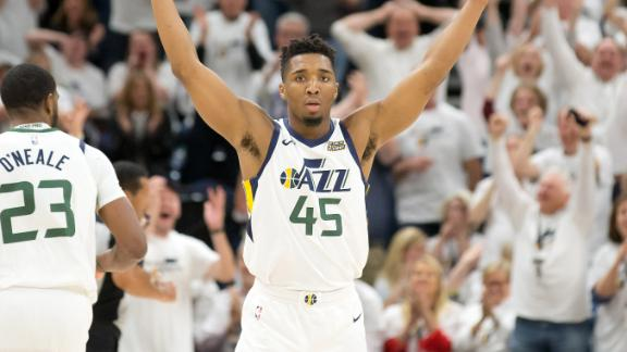 Mitchell shines, Jazz take 3-1 series lead