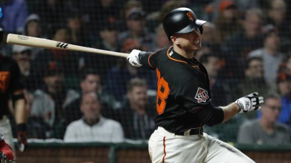 Giants double up Nationals