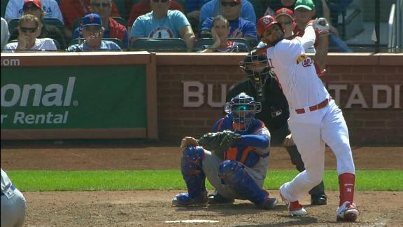 Martinez's ripped double ties game