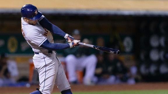 Astros Go For Sweep Over A S Grief Stricken Piscotty