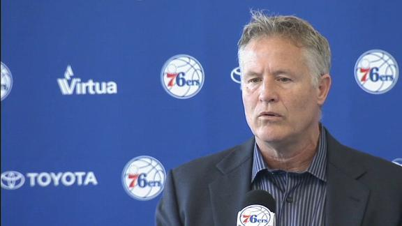 Brown: 76ers require a 'high-level free agent' to win title