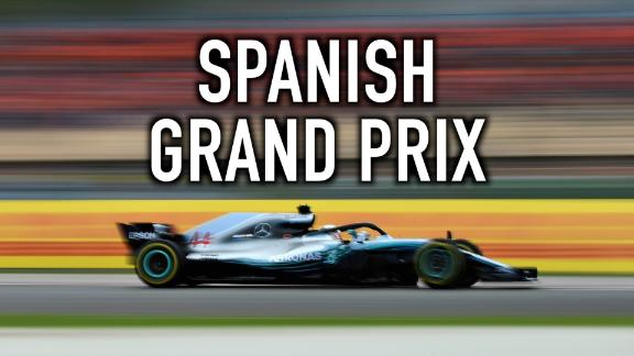 Revisit the Spanish Grand Prix through the eyes of social media, as Lewis Hamilton leads a Mercedes 1-2.