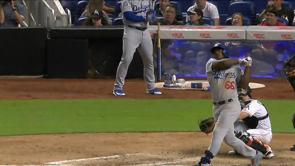 Puig crushes solo homer