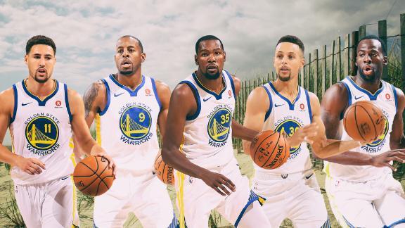 Warriors' 'Hamptons Five' thrives in Game 1
