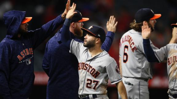 Late offense fuels Astros' victory