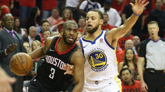 Rockets torch Steph in Game 2
