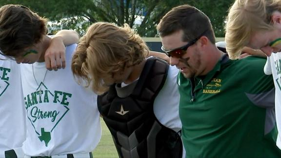 Santa Fe High School has playoff game in wake of shooting