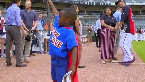 President Perine inspires Braves