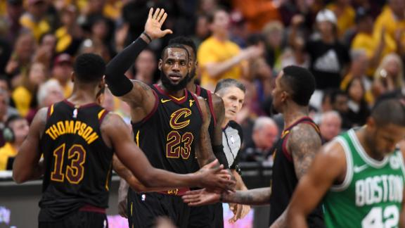 LeBron wills Cavs to Game 4 win