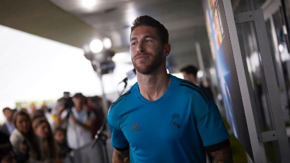 Ramos no recuerda finales anteriores