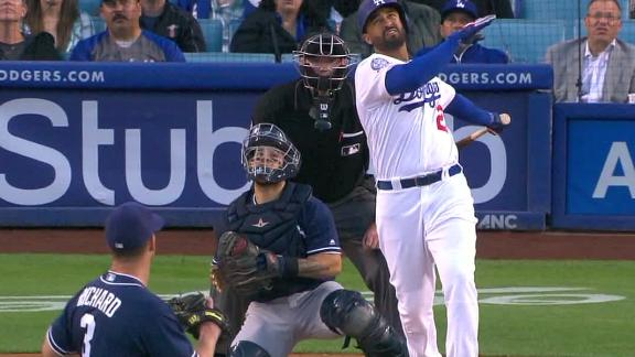 Kemp crushes high pitch over the wall