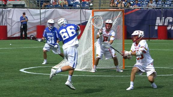 Duke outplays Maryland for the goal