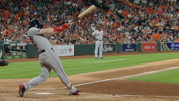 Benintendi crushes second HR in as many days