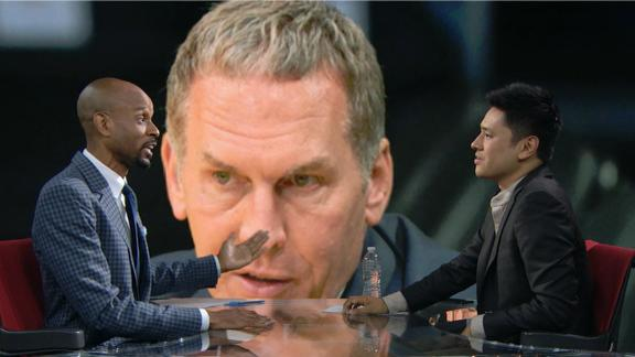 Bomani: Doesn't matter if Colangelo or wife sent tweets